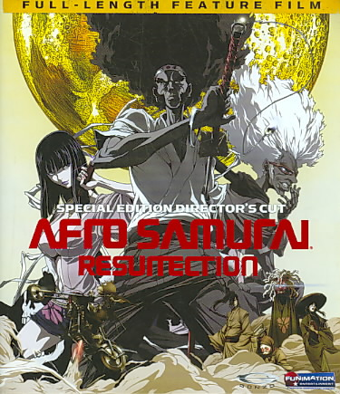 AFRO SAMURAI:RESURRECTION (DIRECTOR'S BY AFRO SAMURAI (Blu-Ray)